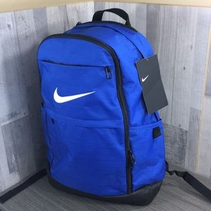 Nike Brasilia Extra Large Backpack blue/black